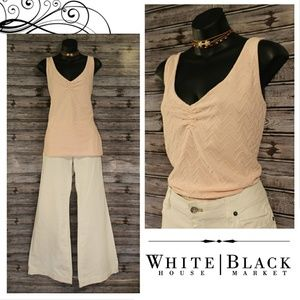 3/30<>Lt. Pink V Neck Tank Top by WHBM